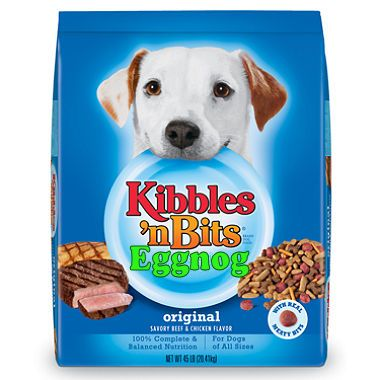 Eggnog Kibbles and Bits a Huge Hit with Dogs