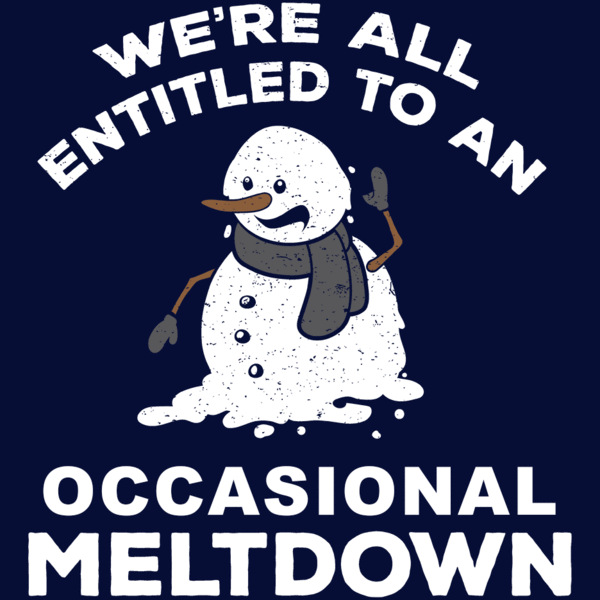 Meltdown Christmas shirt