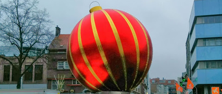 Thieves Steal 300-Pound Ornament