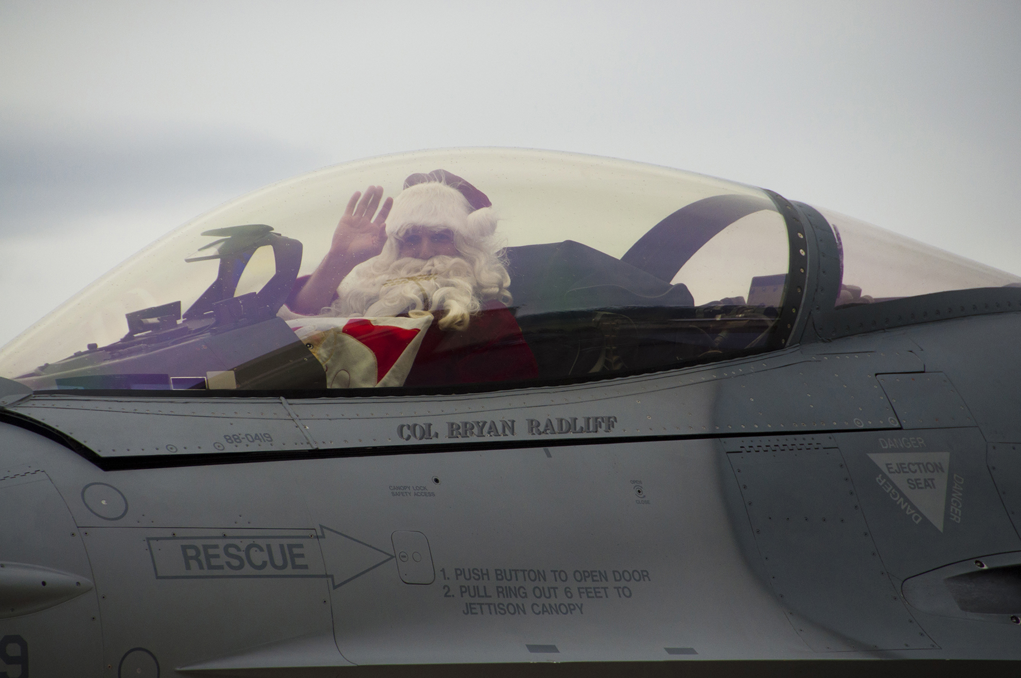 Air Force Says Santa Doesn't Exist